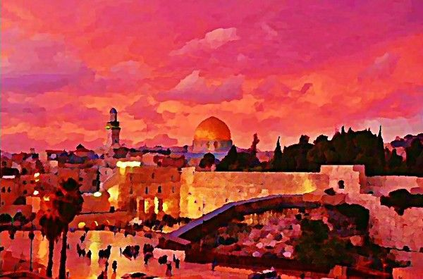 JERUSALEM PANORAMA by Frederick Segal on ARTwanted
