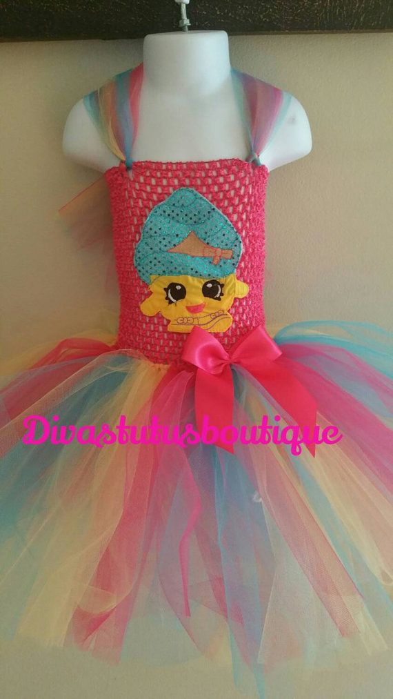 Shopkins Inspired Tutu Dress Cupcake Queen By