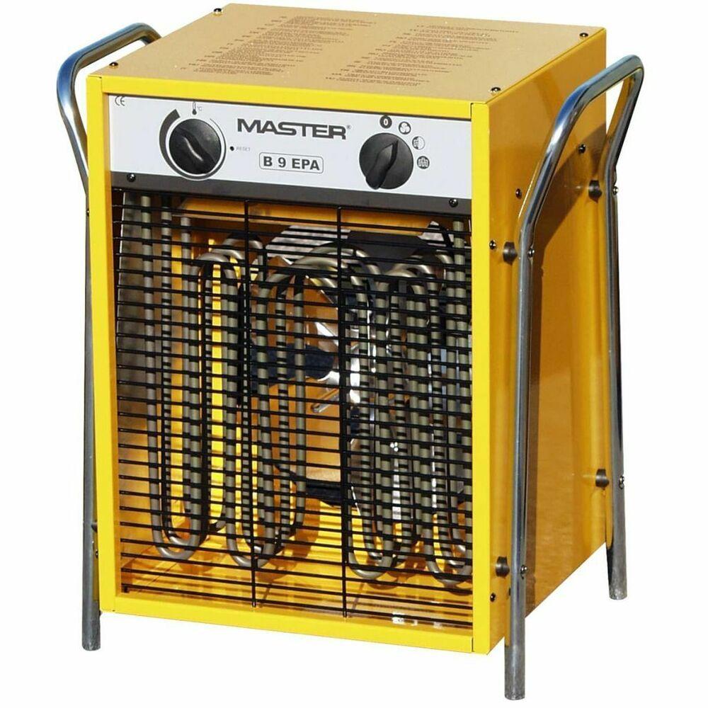 Master Radiateur Soufflant Electrique B9epb 800 M H Generateur D Air Chaud Avec Images Chauffage D Appoint Radiateur Soufflant Chauffage