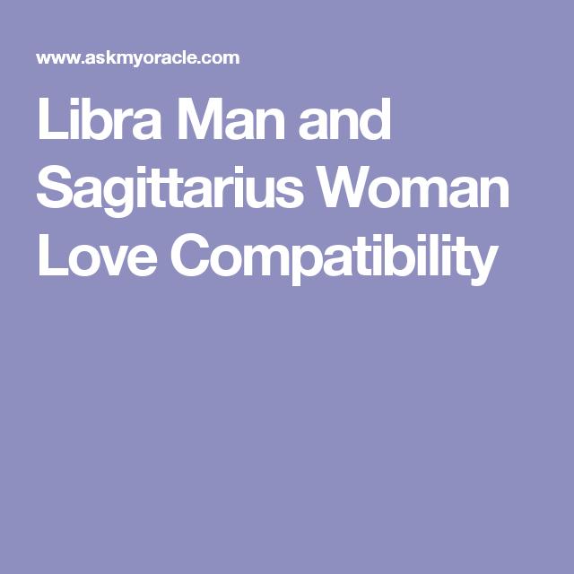 Sagittarius dating libra man