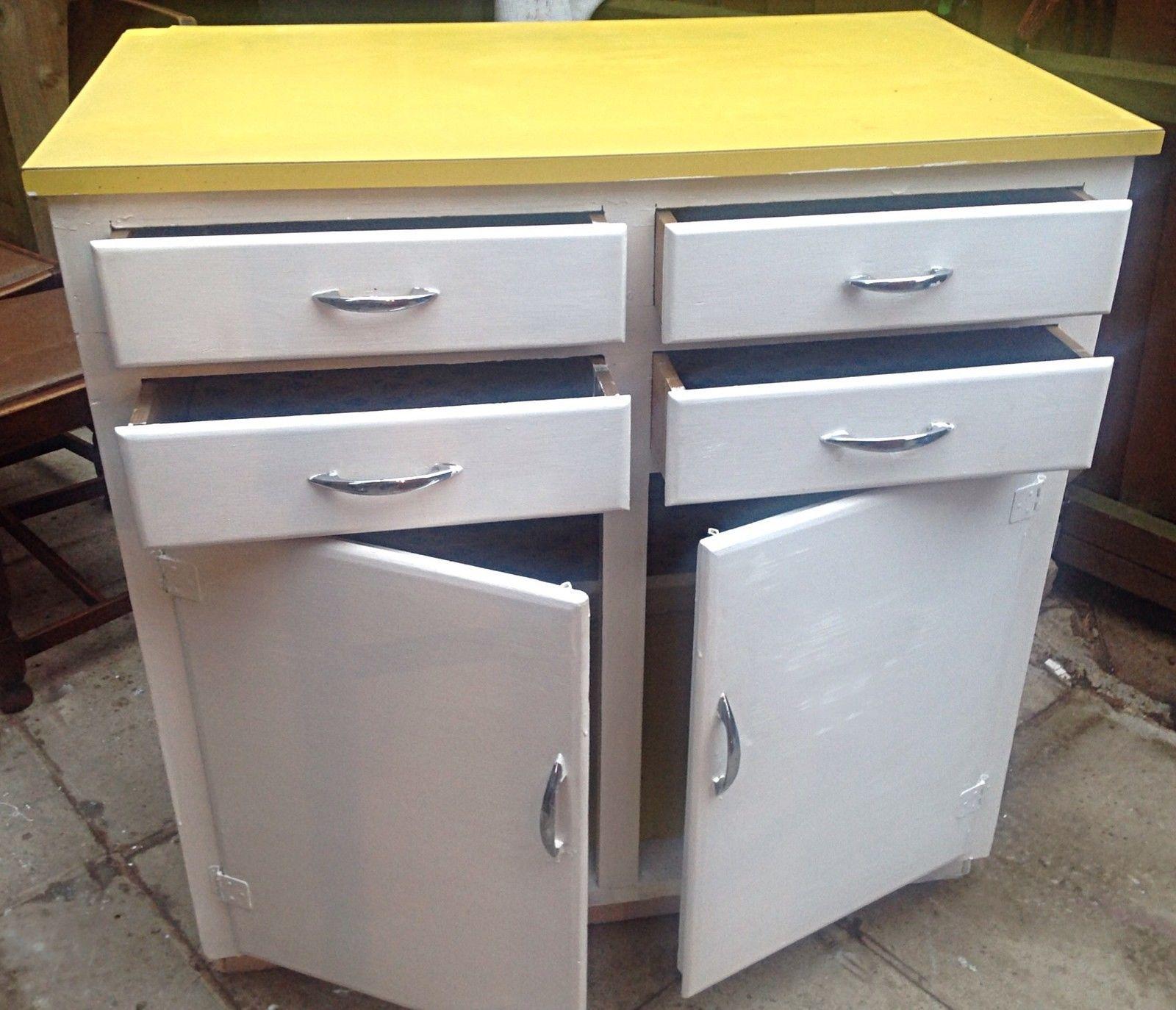 ebay kitchen cabinets. Vintage Retro Kitchen Cabinet Cupboard Larder kitchenette 50s 60s Mid  Century eBay