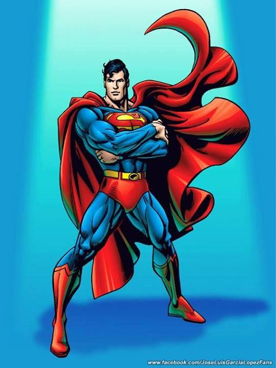 #Superman #Fan #Art. (Superman) By: Jose Luis Garcia-Lopez. (THE * 5 * STÅR * ÅWARD * OF: * AW YEAH, IT'S MAJOR ÅWESOMENESS!!!™)[THANK U 4 PINNING!!!<·><]<©>