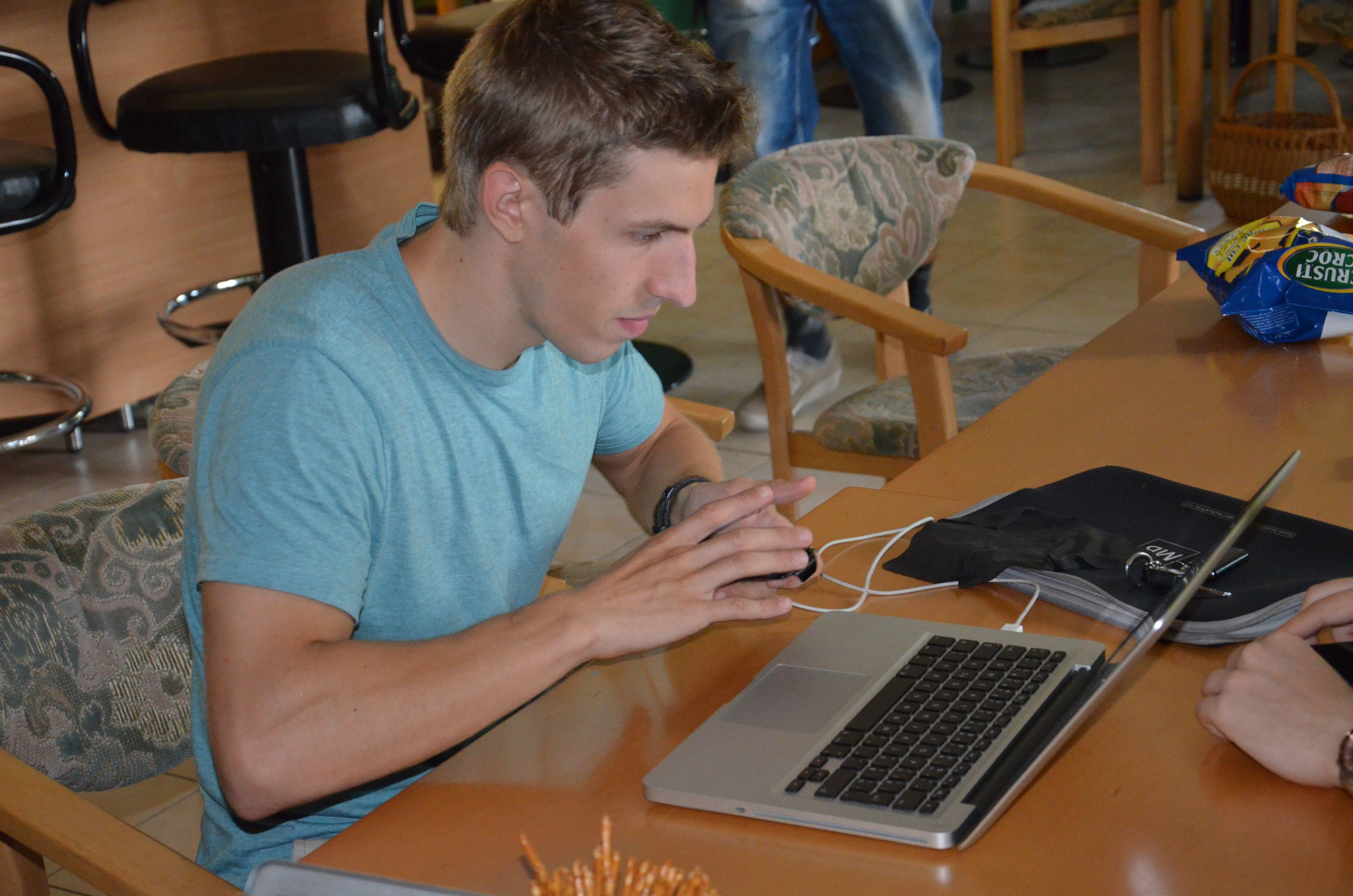 Tomaš (our developer).