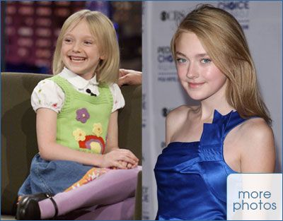 Child Stars Grown Up Dakota Fanning | then and now | Stars then, now