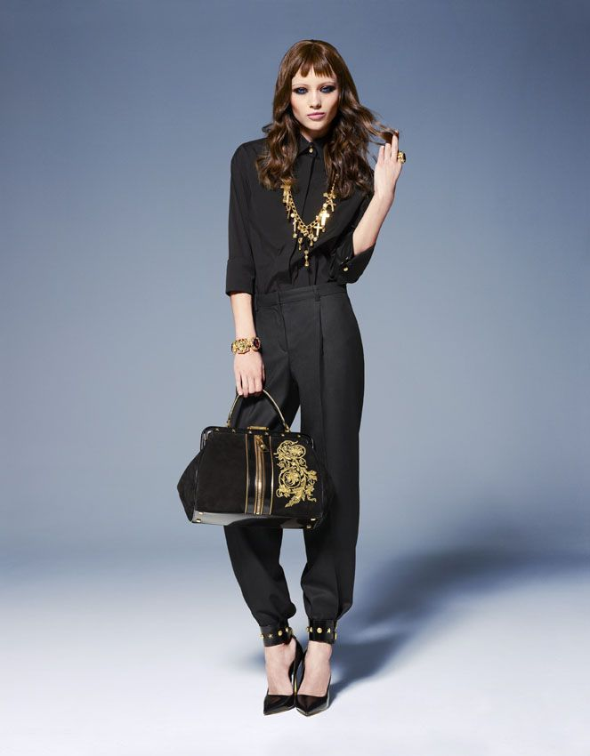 Women's fashion and accessories - FW 2013-14 - Main Collection - Versace 2013
