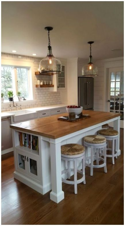 25+ Kitchen Island Ideas With Seating