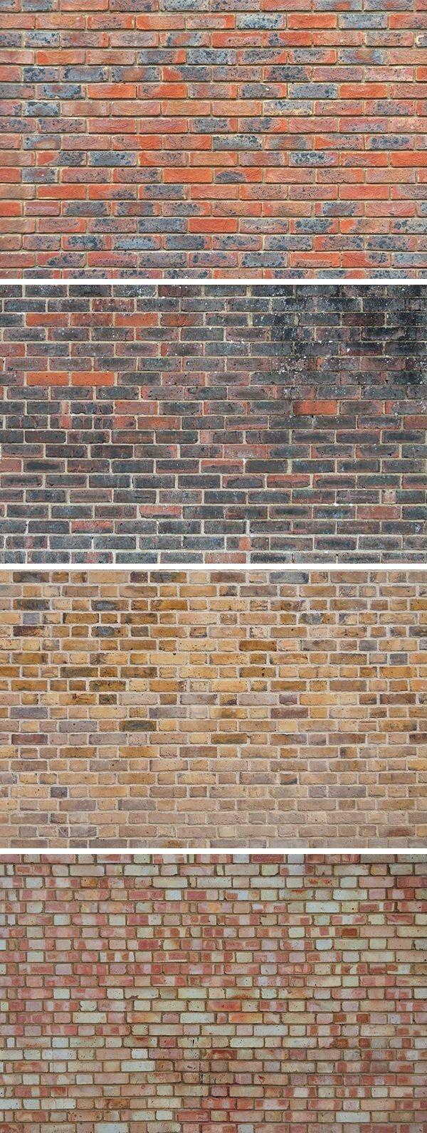 Brick walls | casas y fachadas | Pinterest | Pintura en tela ...