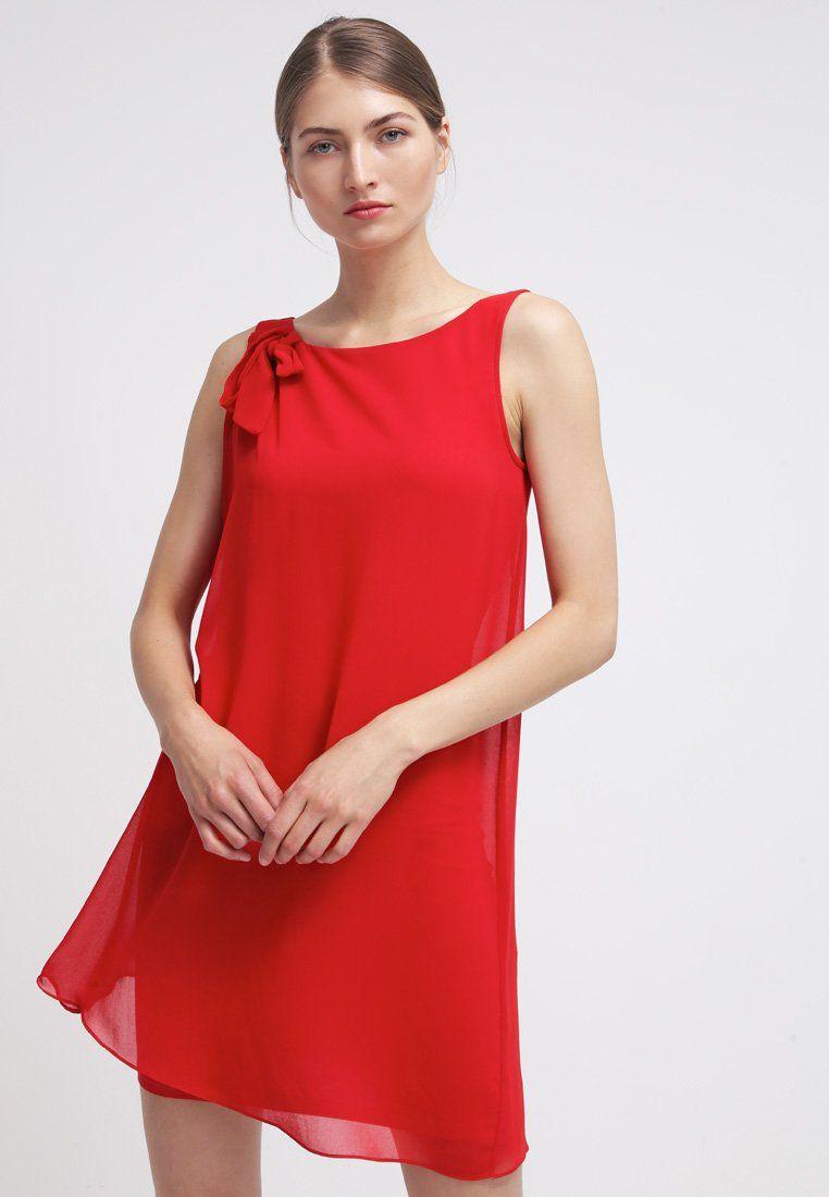 más fotos a23cc 2f4dd que es un personal shopper - vestido coctel rojo naf naf ...