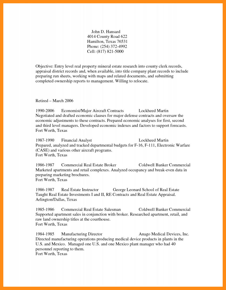 Medical Coder Resume Objective Memo Example