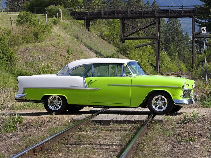 1955 Chevrolet Bel Air Muscle Cars Chevy Vintage Cars