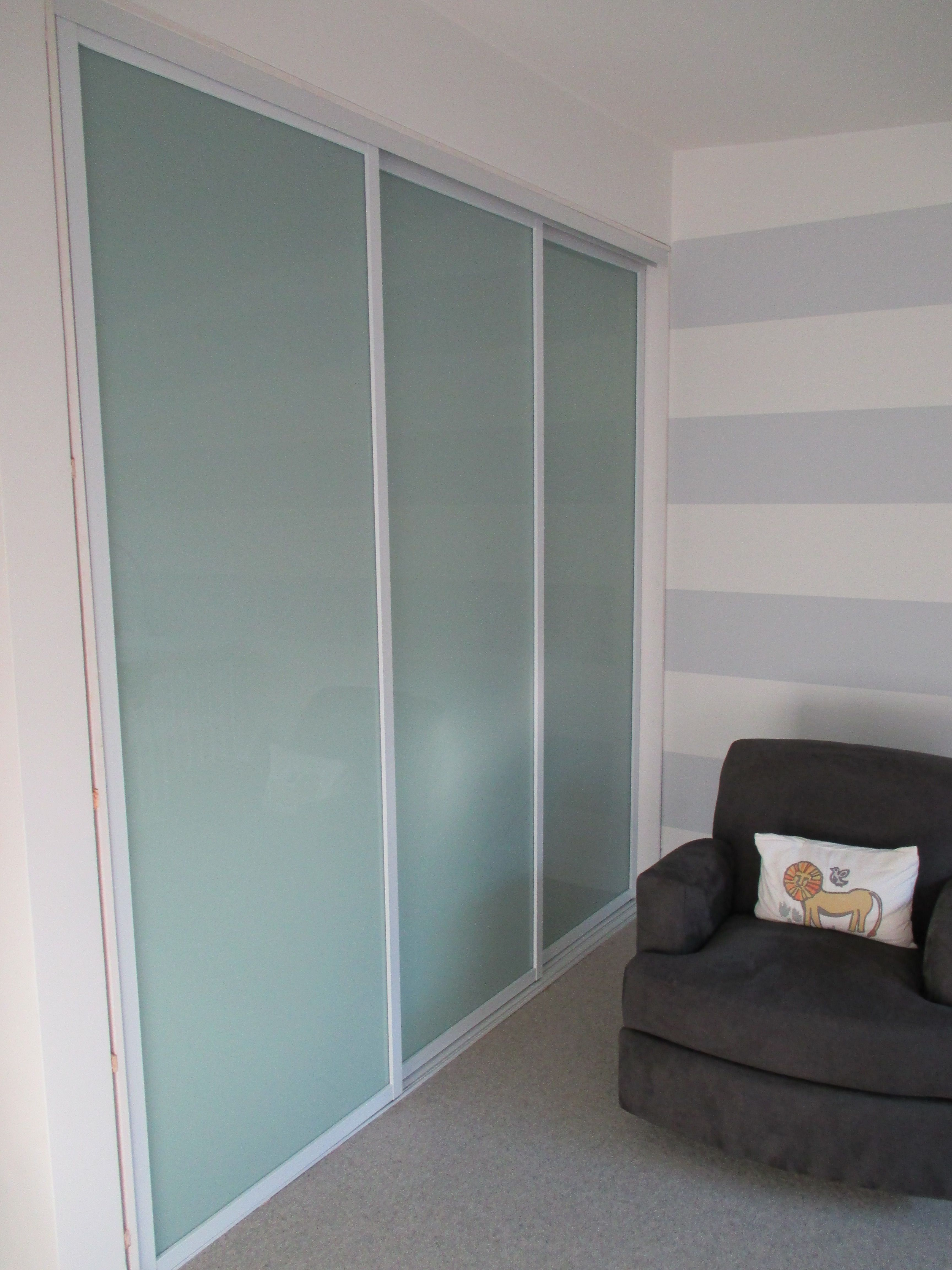 3 Panel 3 Track Modern Bypass Closet Door Check Out This Recent