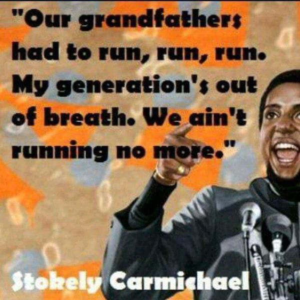 Stokely Carmichael … | Black panther party, Black history ...