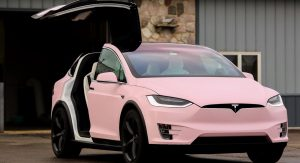 This Tesla Model X Owner Really Loves The Color 'Pink' | Carscoops
