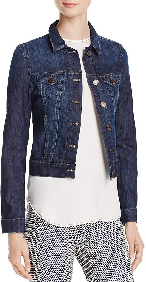 a42e6ed9592 Mavi Jeans Samantha Denim Jacket in Dark Nolita | Products | Jackets ...