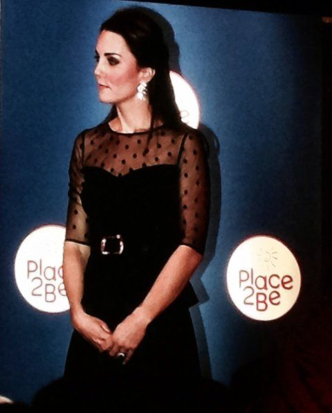 katemiddletons:  The Duchess of Cambridge, patron, attended the Place2Be Awards at Kensington Palace, November 19, 2014