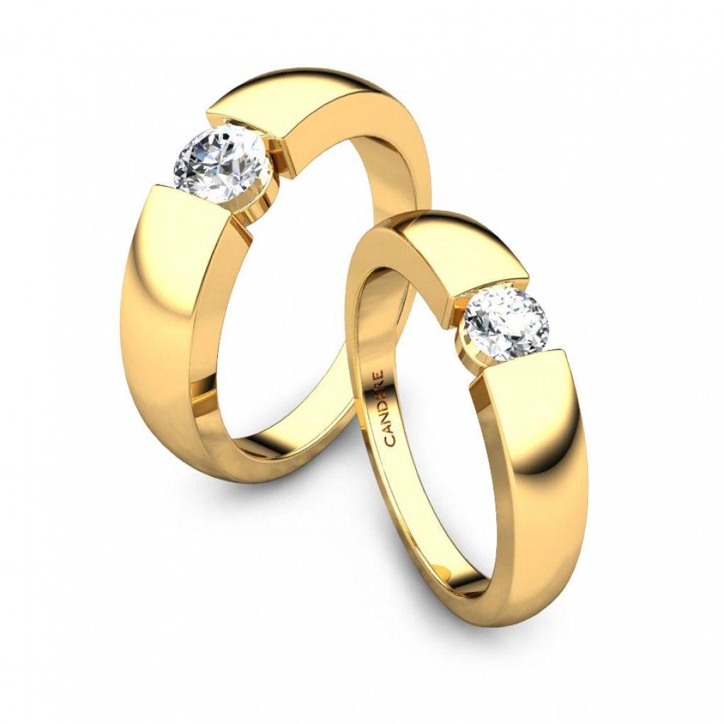 Romeo Diamond Wedding Ring For Him Mens Wedding Rings Gold Couple Ring Design Couple Wedding Rings
