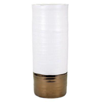 Mercury Row Cylinder Floor Vase Size: Large