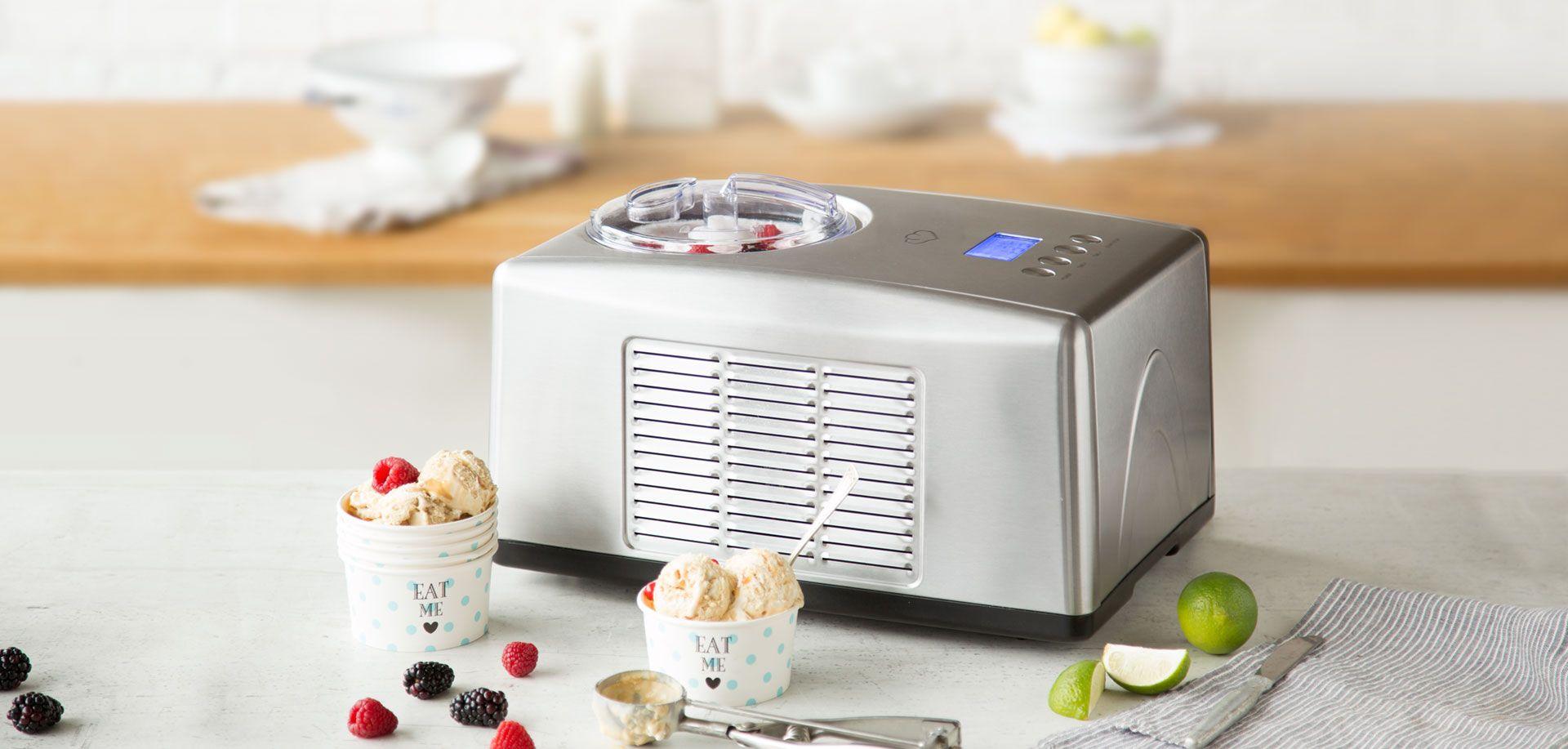 Springlane Kitchen Eismaschine Emma mit Kompressor 1,5 l ✓ Jetzt für 199,00 € (30.07.16) bei Springlane.de ✓ Versandkostenfrei
