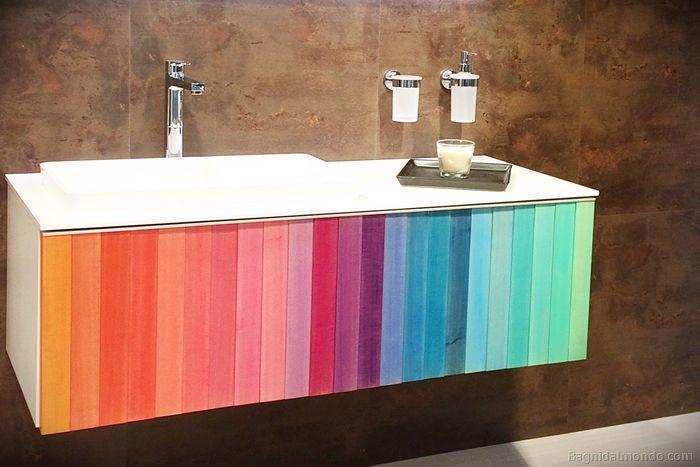 Idee e spunti per il mobile dal bagno dall 39 ultimo salone internazionale della ceramica e dell - Fiera del bagno bologna ...