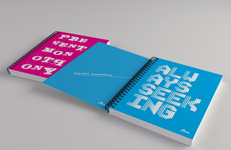 Notebook covers for Interdruk