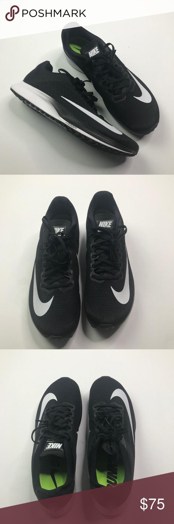 brand new 36a45 f3d1b NIB Nike Black and White Air Zoom Elite 10 Men's Nike Air ...