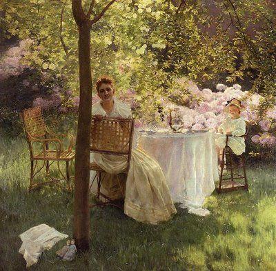 Gaston de LaTouche (1854-1913) French Impressionist ~