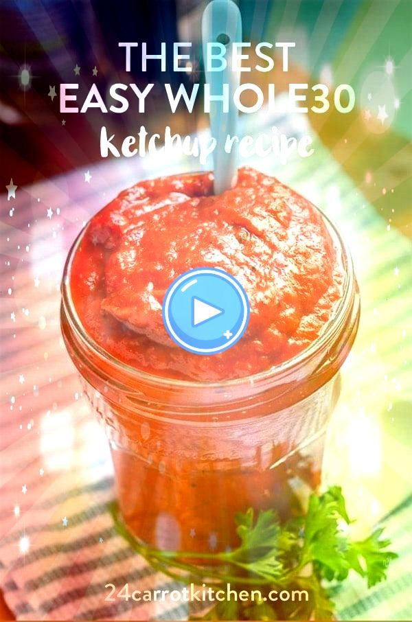 the most delicious homemade ketchup without any refined sugar or corn syrup Naturally sweetened and very tasty Perfect for barbecues cookouts and everyday meals Make the...