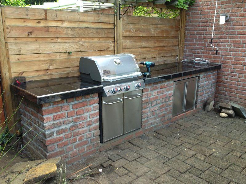 Blog selbst gebaute Aussenküche | Grill station | Pinterest ...