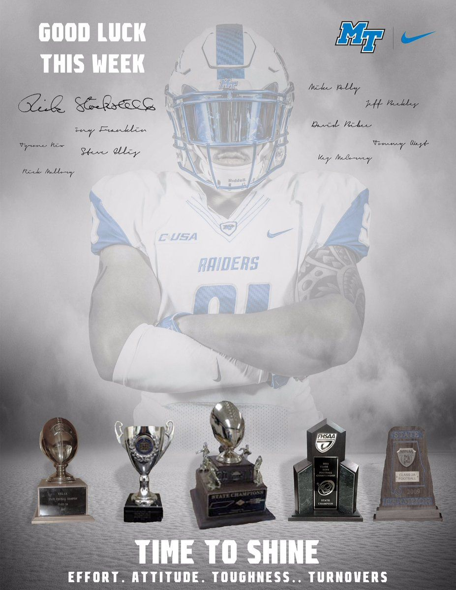 Middle tennessee football recruiting college football