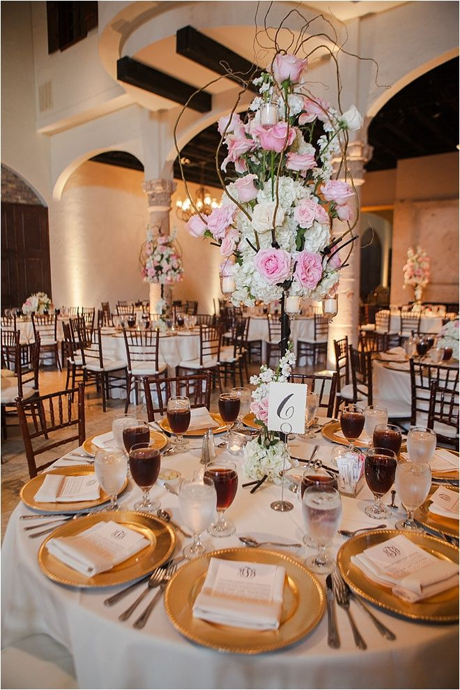 Blush ivory and gold tablescape decor darryl co venue the blush ivory and gold tablescape decor darryl co venue the bell tower on 34th street junglespirit Gallery