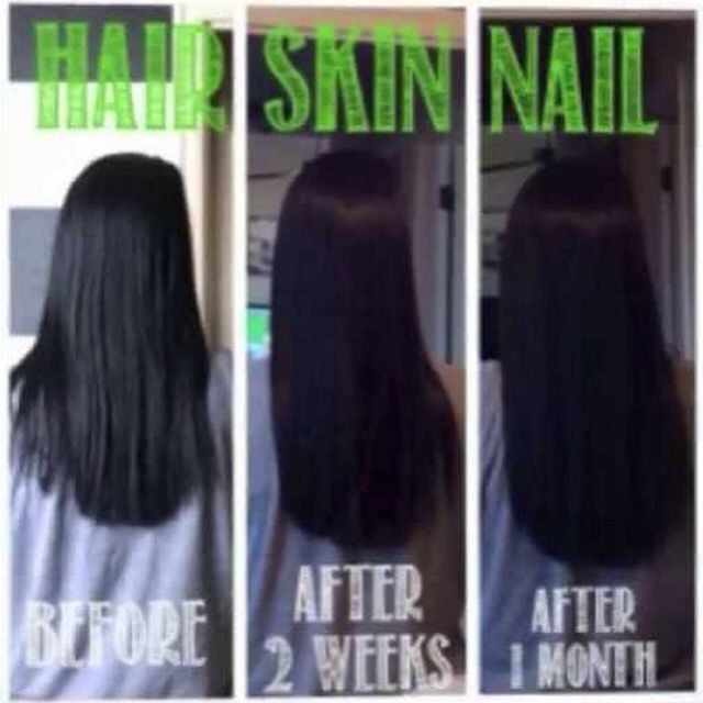 Itworks hair skin nails 90 day challenge healthier hair damaged hair ...
