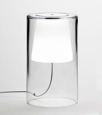 Lampe De Table Join Vibia Blanc Transparent Made In Design Lampe De Chevet Design Lampe De Table En Verre Luminaire