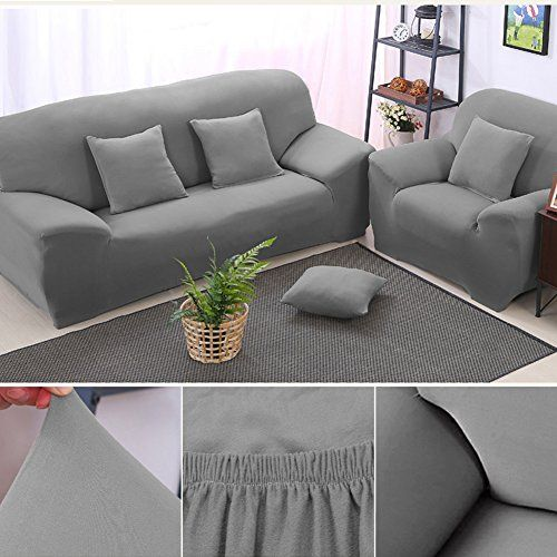 Awesome Bluecookies Stretch Sofa Slipcover Easy Fit Elastic Fabric Couch Cover Protector