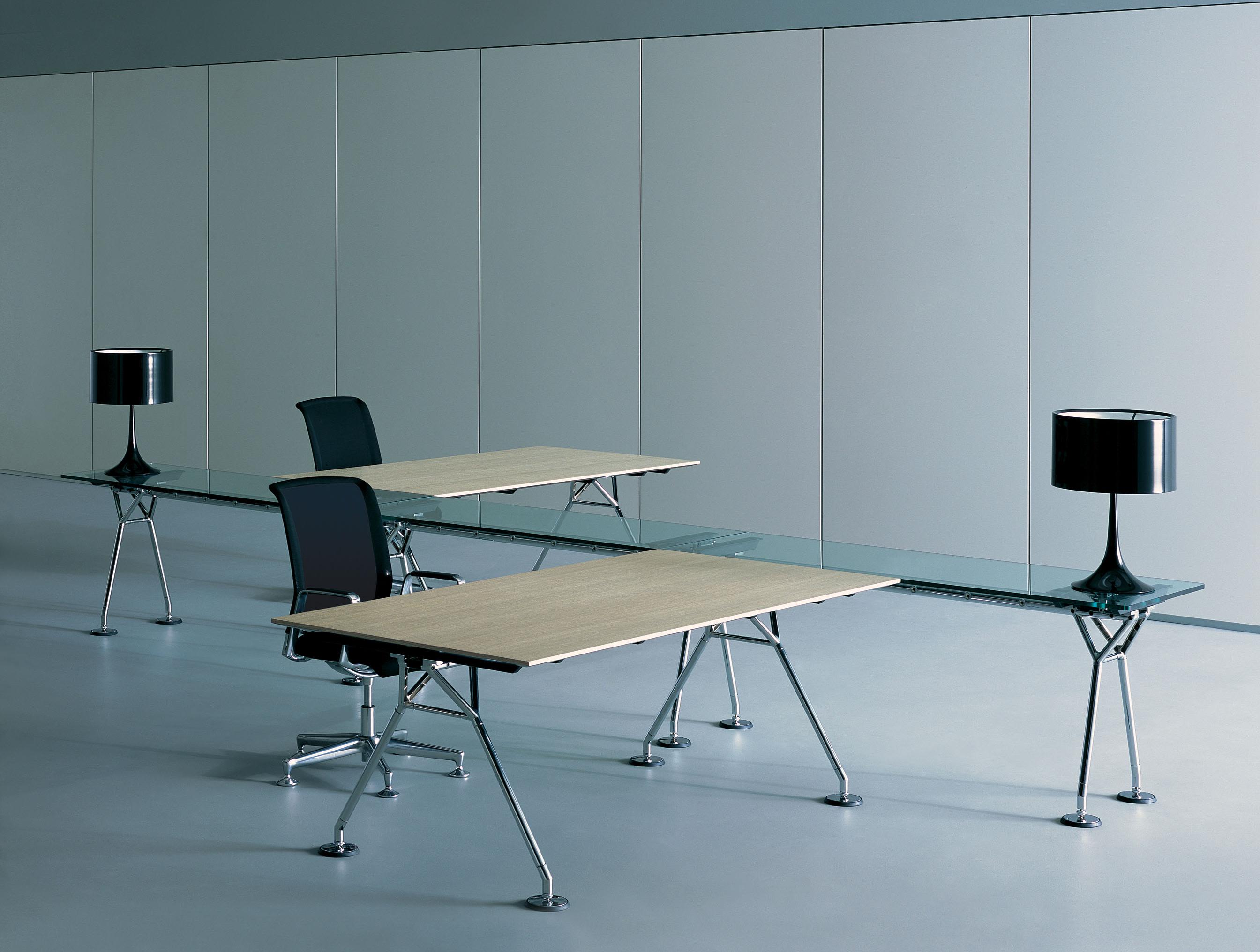 Contract Furniture Open Plan Nomos Bench System By Tecno Mobili Tecno Spazi