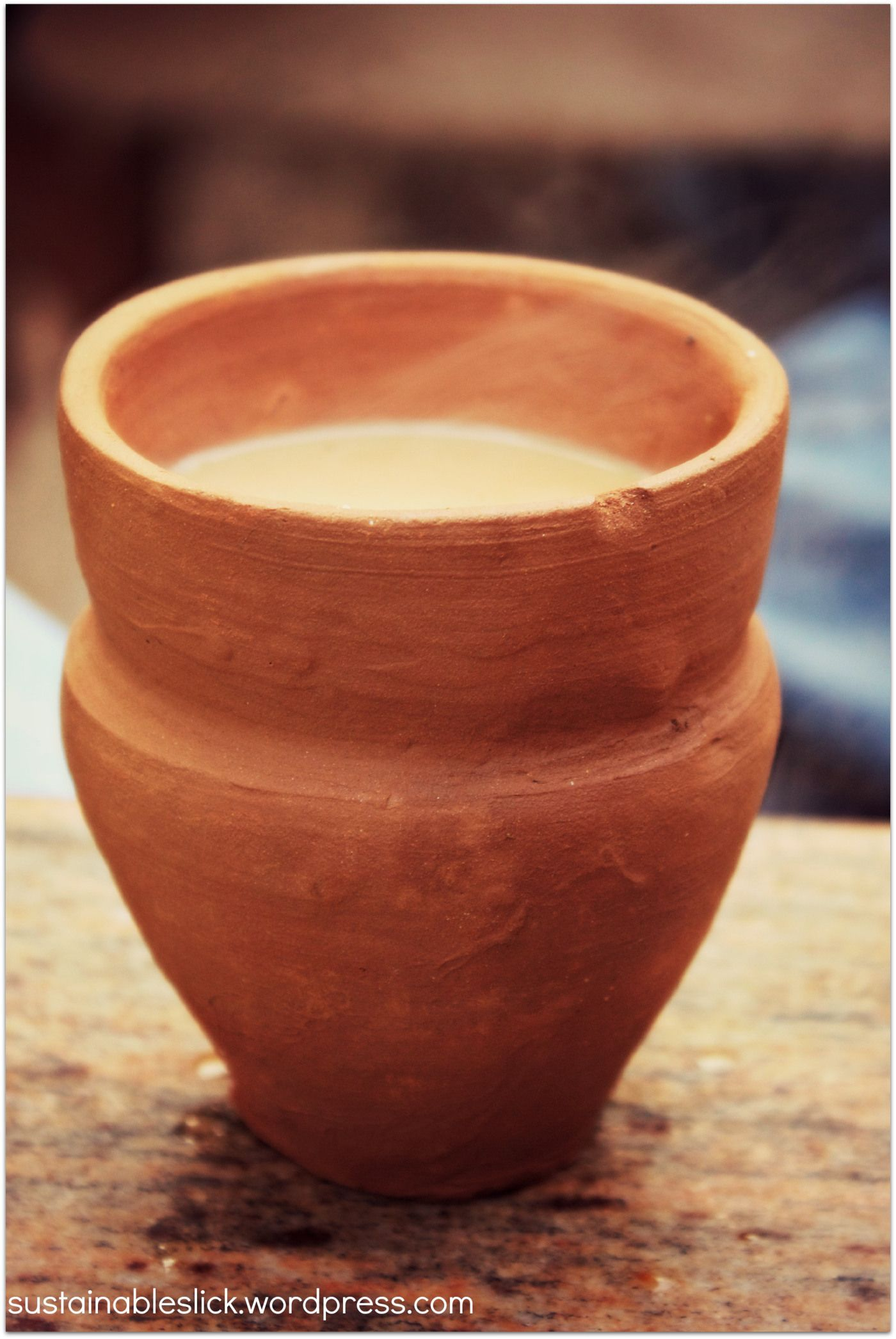 EcoFriendly Clay Tea Cups from India Tea recipes, Tea