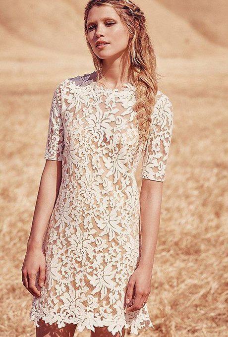 06bb2e94de76a Lace Shift Mini Dress by Grace Loves Lace x Free People | Brides.com