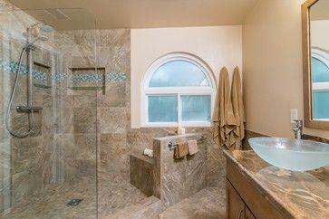 Poway California Master Bathroom  Transitional  Bathroom  San Best San Diego Bathroom Remodeling 2018