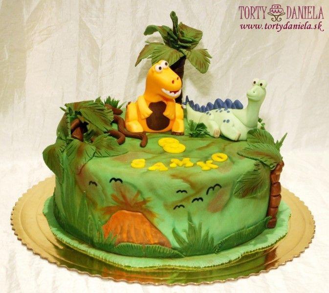 torta dinosaury - Hľadať Googlom