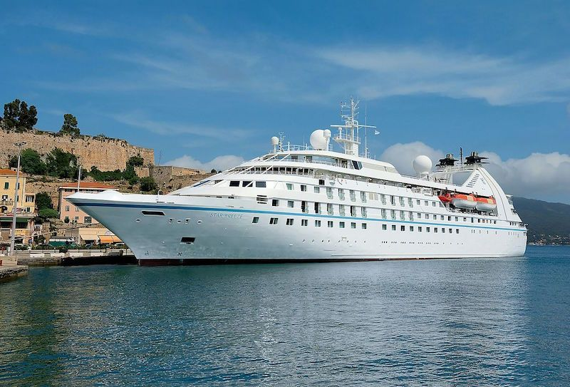 The Worlds Uber Rich Are Now Renting Giant Cruise Ships
