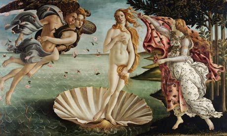 Birth of Venus, by Sandro Botticelli