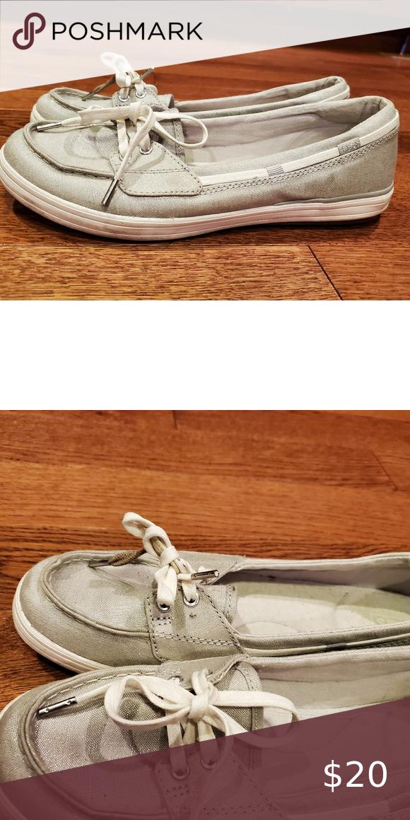 Womens size 9 keds ortholite gray shoes