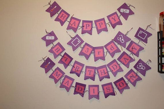 Birthday Banners by ReyesBoutique on Etsy