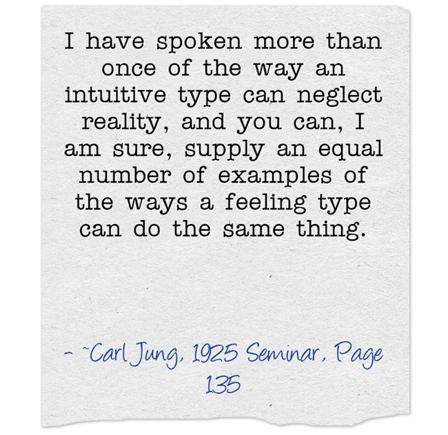 I Have Spoken More Than Once Of The Way An Intuitive Type -6164