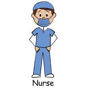 male nurse clipart medical doctor nurse cookies pinterest male rh pinterest com male nurse clipart free