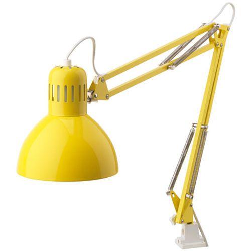 Ikea Tertial Arbeitsleuchte Lampe Schreibtischlampe Arbeitszimmer Leuchte Gelb Gele Lampen Bureaulamp Ikea