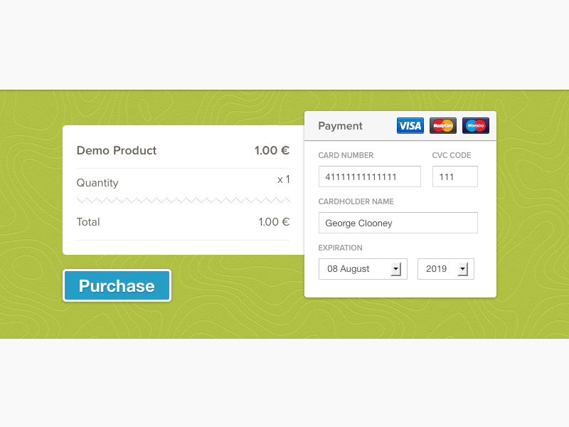 Payment Form By Inruntime  Design  Art    Ui Ux