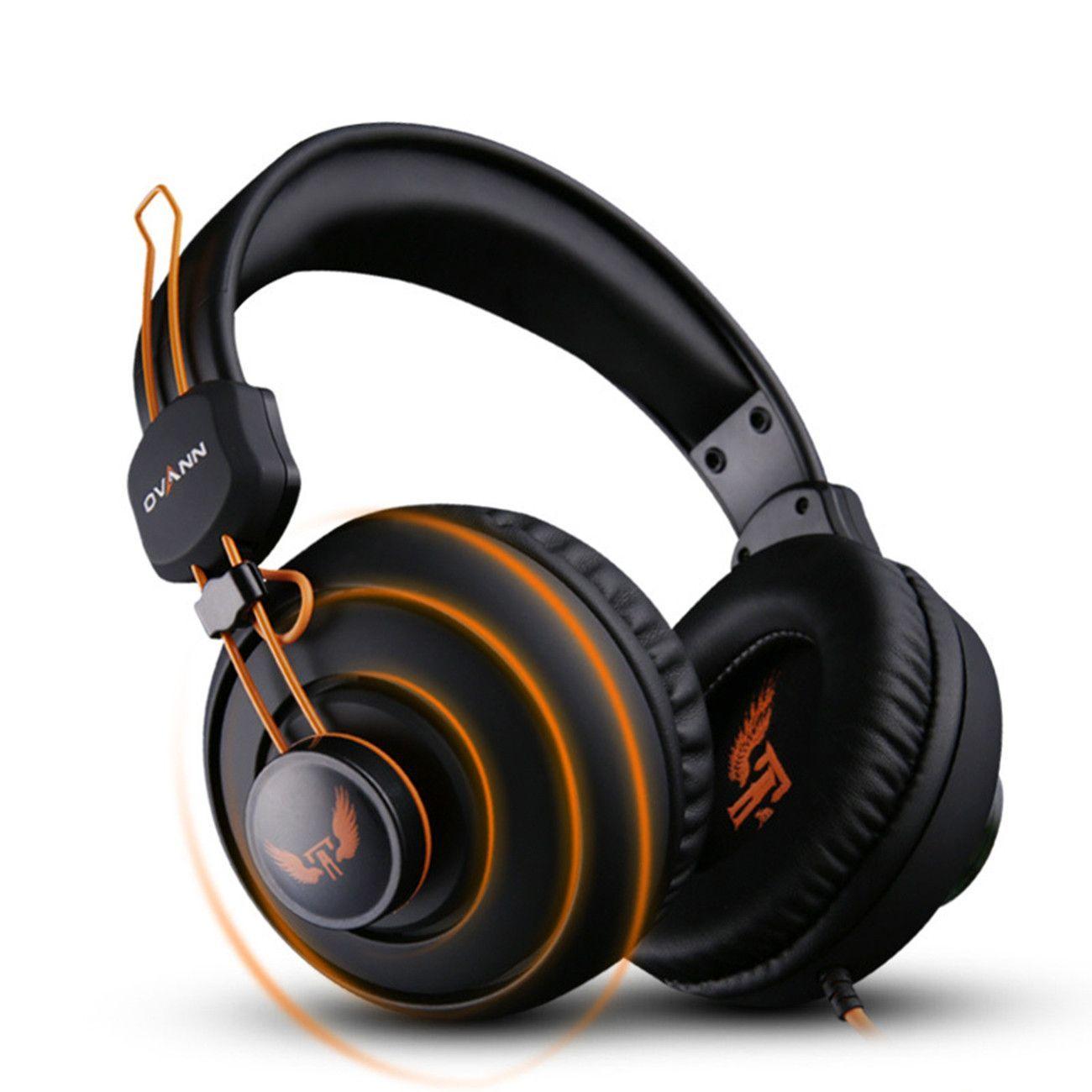 Ovann OVANNX7 3.5mm Stereo Headset Headphones Gaming