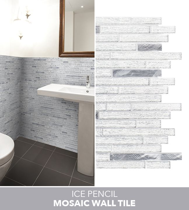 Pencil Mosaic Tiles | Tile Design Ideas