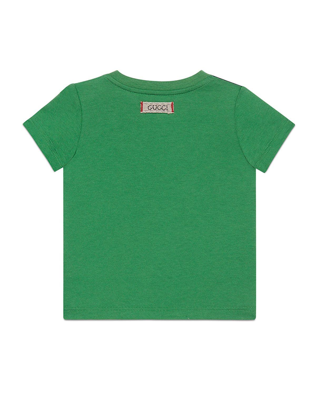 34b41c67e Gucci Cat Pirate Short-Sleeve T-Shirt, Size 6-36 Months | Neiman Marcus