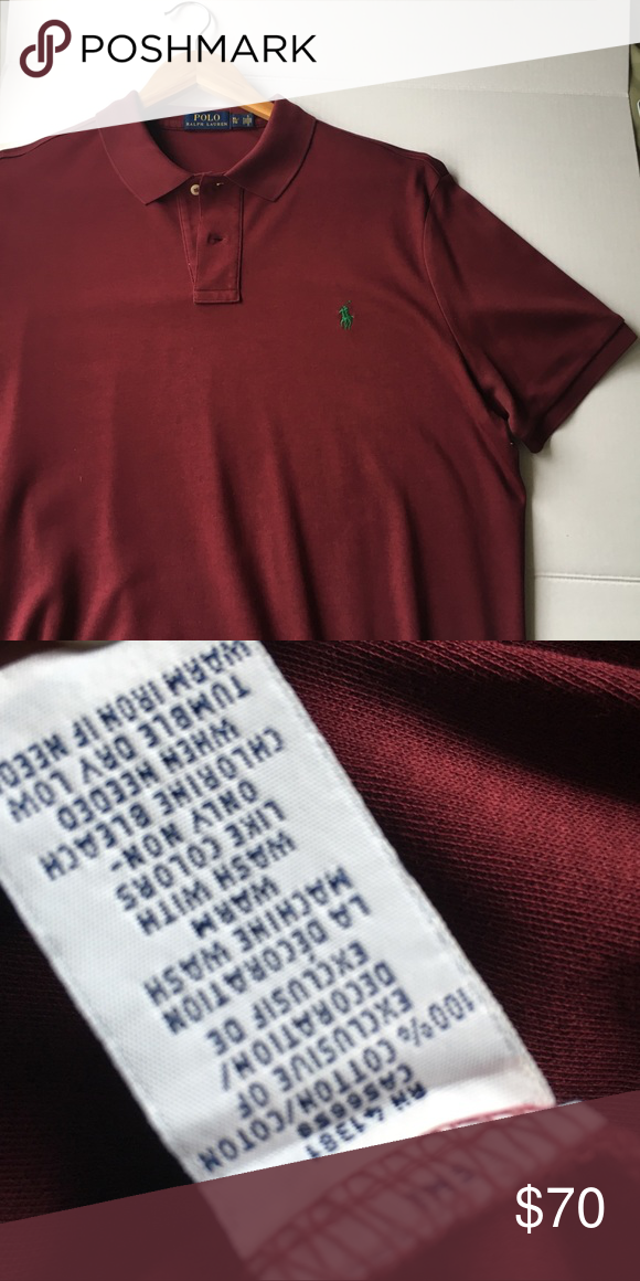 a14b724fe POLO Ralph Lauren Men's Classic Fit Soft Touch, XL Polo Ralph Lauren for men  is
